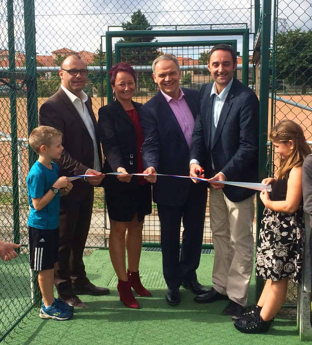 Inauguration - Tennis Club de Pierre Bénite