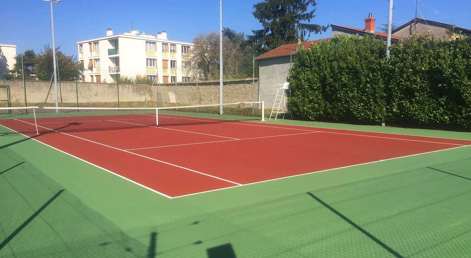 Court N°4 - Tennis Club de Pierre Bénite