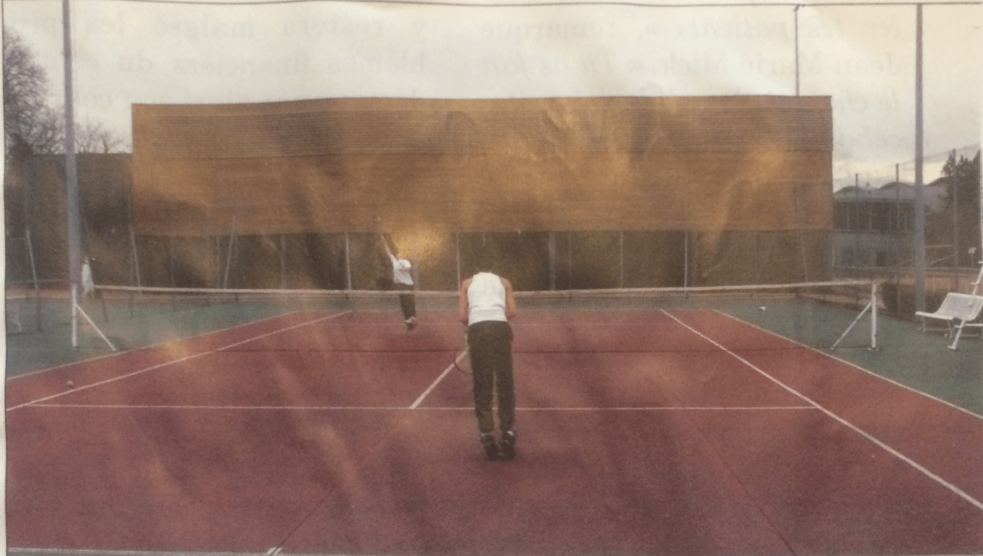 Court extérieur 2003 - Tennis Club de Pierre Bénite