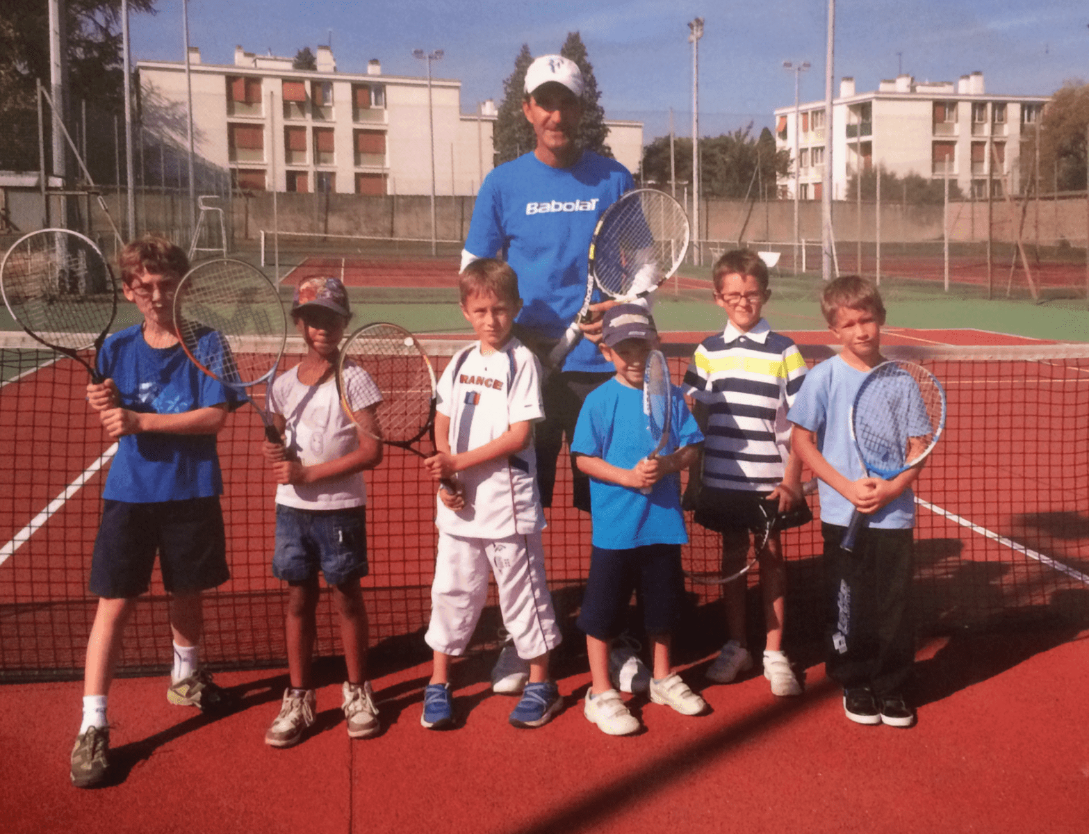 Ecole de tennis 2014 - Tennis Club de Pierre Bénite